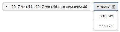 צור טיוטא בקמפיין גוגל אדוורדס